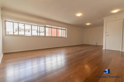 Apartamento Com 3 Dormitórios Para Alugar, 152 M² Por R$ 6.880,00/mês - Itaim Bibi - São Paulo/sp - Ap3839