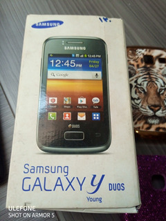 Samsung Galaxy Young Duos (gt-s6102b) Branco
