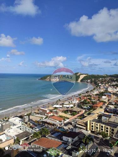 Apartamento Com Vista Para O Mar 1 Dormitório À Venda, 40 M² Ponta Negra - Natal/rn - Fl0006