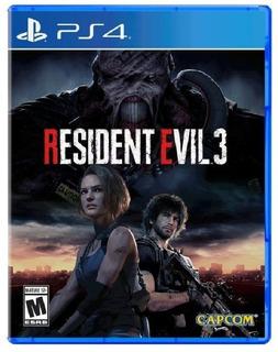 Resident Evil 3 I Ps4 I 1° Ria Gtia Anti Block  Digitalessn