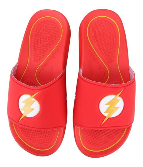Chinelo Rider Liga Da Justiça Gáspea The Flash + Nota Fiscal Ctsports