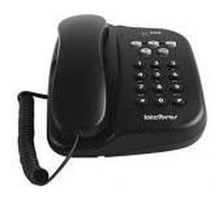 Telefone Com Fio Tc 500 Preto C/ Chave