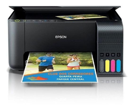 Impressora Multifuncional Epson Ecotank L3150 Wifi Scanner