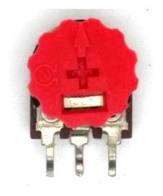 Trimpot Vertical Com Botão 22k Kit 5 Peças