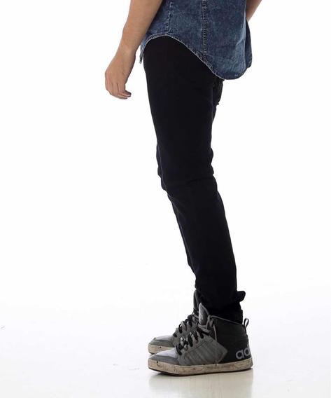 Pantalón Jeans Chupin Rijido Hombre