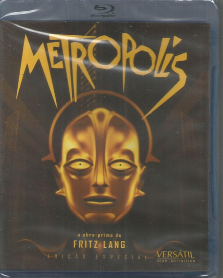 Blu-ray Metropolis - Versatil - Bonellihq L19