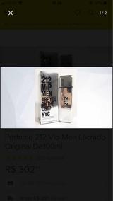 Perfume 212 Masculino 100ml E Feminino 125ml