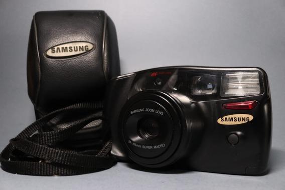 Câmera Samsung Af Zoom 1050 Macro