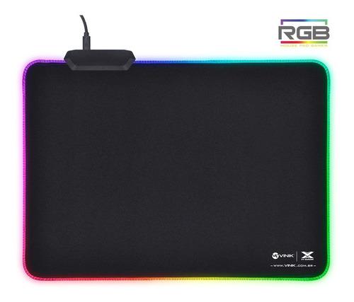 Mousepad Vinik Vx Gaming Rgb 250x350x3mm Preto + Nfe