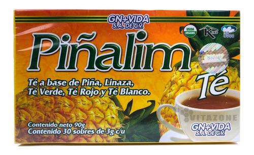 Imagen 1 de 5 de Piñalim Té 30 Sobres Gn+v Original