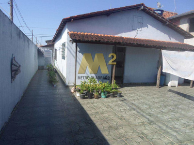 Casa Com 2 Dorms, Maracanã, Praia Grande - R$ 250 Mil, - V47932939