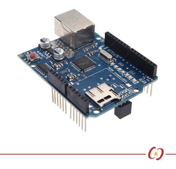 Ethernet Shield W5100 Com Slot Sd Card