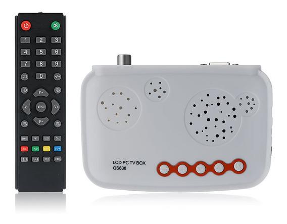 Caixa De Tv Lcd Hdtv/caixa De Sintonizador De Tv Analógica H