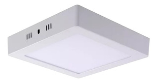 Panel Led 18w Aplicar Cuadrado Frios 1500lm Full