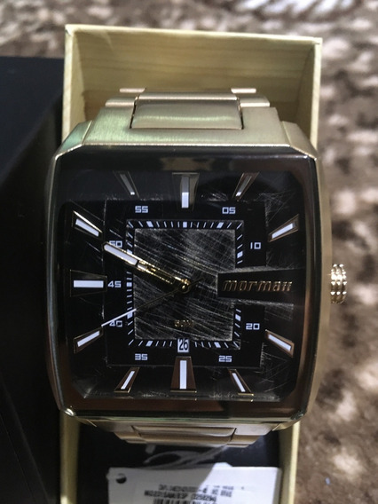 Relógio Technos Qz Mormaii Metal Dourado