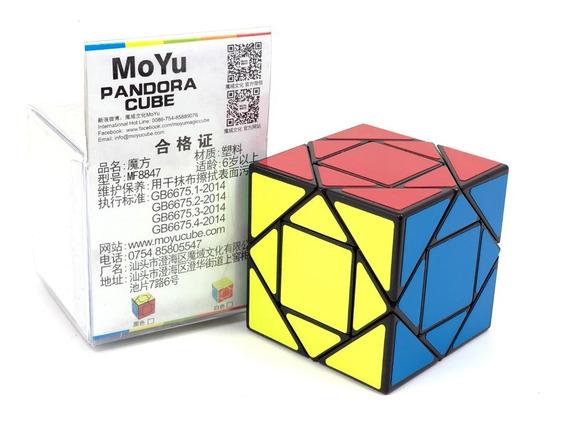 Cubo Rubik 3x3 Moyu Pandora Cube Lubricado