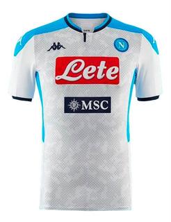 Camisa Nova Do Napoli 19/20 Italiano - Desconto + Garantia