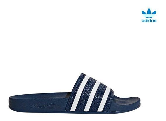 Sandalias adidas Adilette Azul - La Isla
