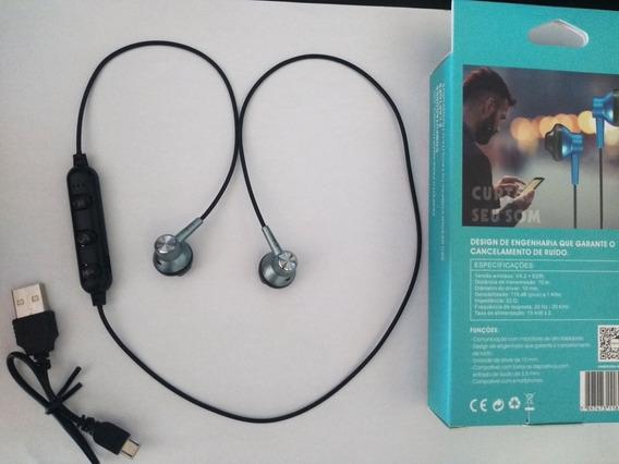 Top Fone De Ouvido Bluetooth Inova Com Cancelamento De Ruído
