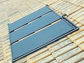 9 Placas Coletor Aquecedor Solar + C/ Manual / Menor Frete