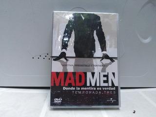Mad Men Donde La Mentira Es Verdad Dvd Temp 3 Original