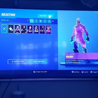 Skin Galaxy Exclusivas + Pavos Rey Palomo