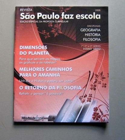 São Paulo Faz Escola 2008 - Geografia, História, Filosofia