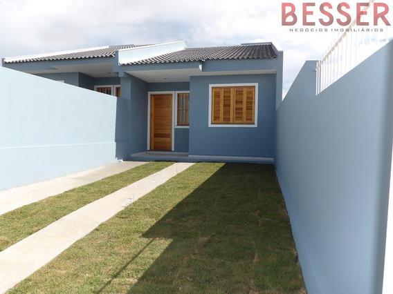 Excelente Casa Com 3 Dormitorios Em Sapucaia - V-745