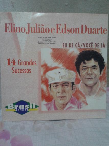 Vendo Disco De Vinil - Elino Julião E Edson Duarte -