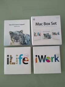 Apple Os X, Iwork E Ilife 2009 Original Usado - 5 Licenças
