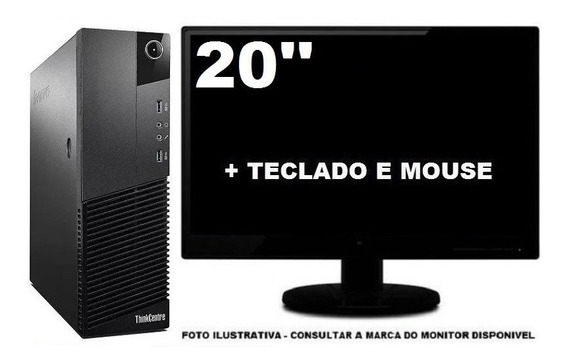 Lenovo Thinkcentre M83 Core I3 4ger 4gb 500gb - Semi Novo