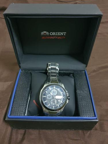 Relógio Orient Speedtech Vidro De Safira Com Bateria Nov !!!