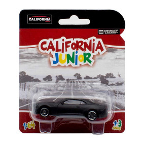 Miniatura Chevrolet Camaro California Junior Preto 1/64