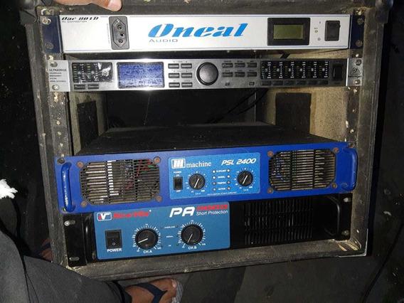 Potência Machine Psl 2400 Mais Rack Completo