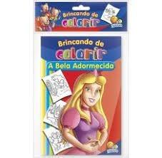 - Livro Clássicos Adoráveis Colorir A Bela Adormecida - S8