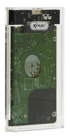 Case Hd Sata Notebook Usb Externa Pc Xbox Ps4 Wii T2