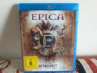 Epica: Retrospect Doble Blu Ray ( Usado ) ( Delain )