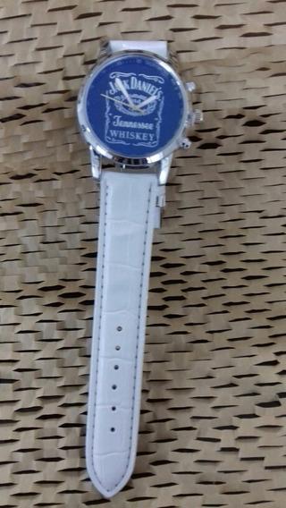 Lindo Relógio De Pulso, Unissex, Pulseura Branca