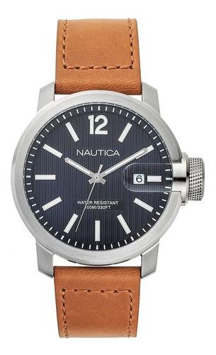 Relógio Masculino Nautica Marrom Duas Pulseira Napsyd012 Top