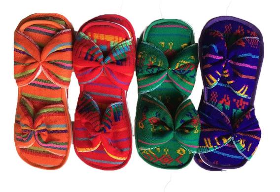 50 Pantuflas Mexicanas Rebozo Bodas Fiestas Eventos