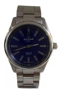Reloj Vox Tronic Hombre Acero Sumergible W50m Gtia Oficial
