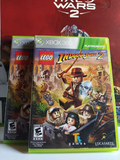 Lego Indiana Jones 2 Xbox 360 Usado Físico Original