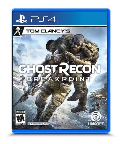 Imagen 1 de 8 de Juego Tom Clancy's Ghost Recon Breakpoint Sony Ps4 Cuotas