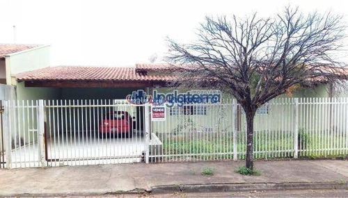 Casa À Venda, 130 M² Por R$ 280.000,00 - Jardim Vale Azul - Londrina/pr - Ca0815