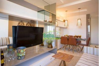 Apartamento Com 3 Dormitórios À Venda, 67 M² Por R$ 375.000 - Boa Viagem - Recife/pe - Ap1373