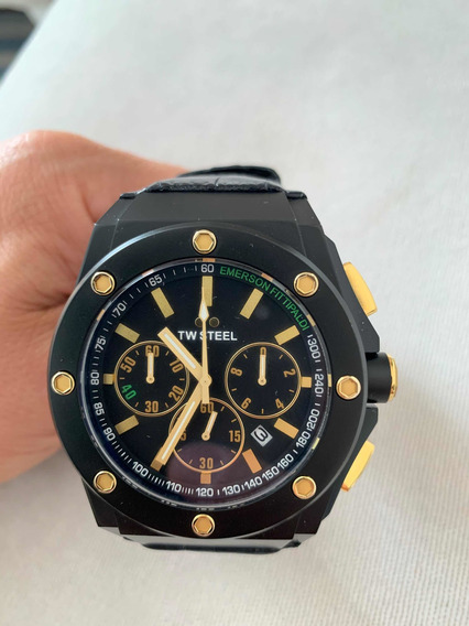 Reloj Tw Steel Limited Edition Emerson Fitipaldi, Full Set!!