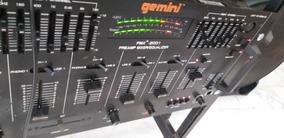 Pré Amp Mixer/equalizier Mpx 2001 Gemini.cygnus.advance.unic