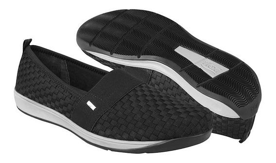 Flexi Zapatos Dama Casuales 28305 23-26 Textil Negro