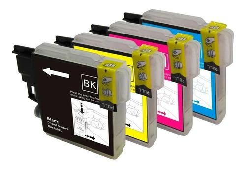 Pack 4 Cartuchos Compatibles Lc-75 Mfc-j430w Mfc-j6710dw