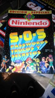 Revista Club Nintendo Edicion Especial S.o.s 1993 Impecable